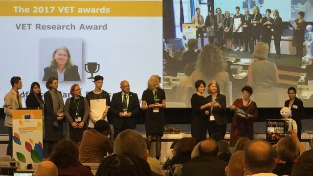 EC VET Research Award 2017 Karen Evans